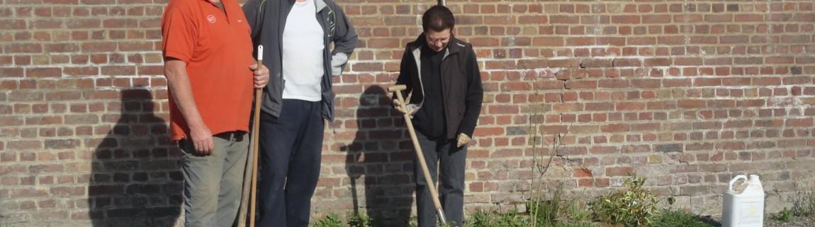 Les jardinières et jardiniers de la commune remerciés pour l'entretien des bacs à fleurs et arbustes
