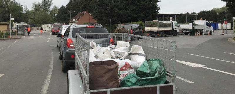 Dépôts à la déchetterie – Mieux sécuriser les chargements de déchets