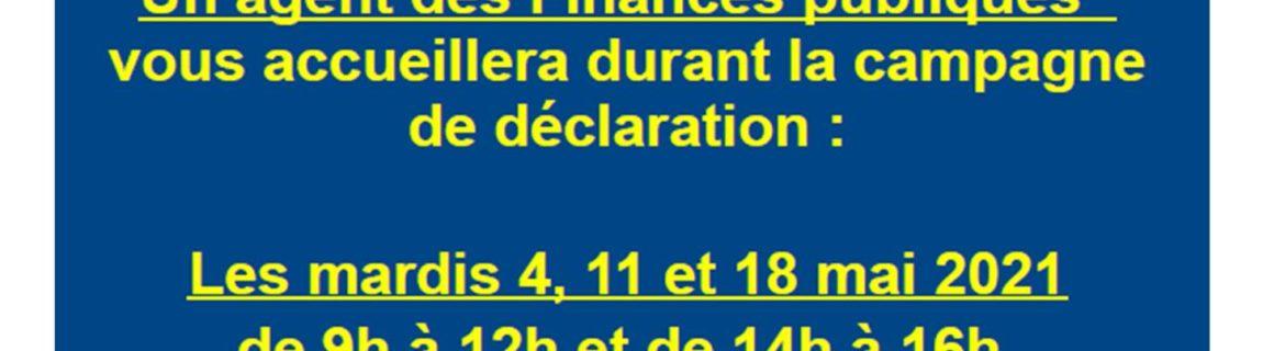 France Services – Permanence déclaration fiscale